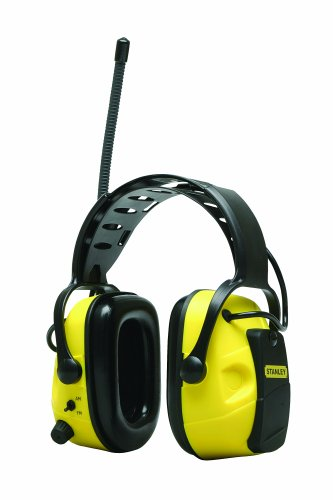 Stanley RST-63005 AM/FM Earmuff with AUX Input, Outdoor Stuffs