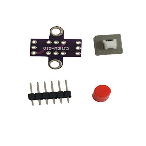 KESOTO 6ピン ミニ セルフロックスク エアプッシュ ボタンスイッチ 8 X 8mm 押しボタンスイッチ