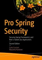 Pro Spring Security, 2nd Edition Front Cover