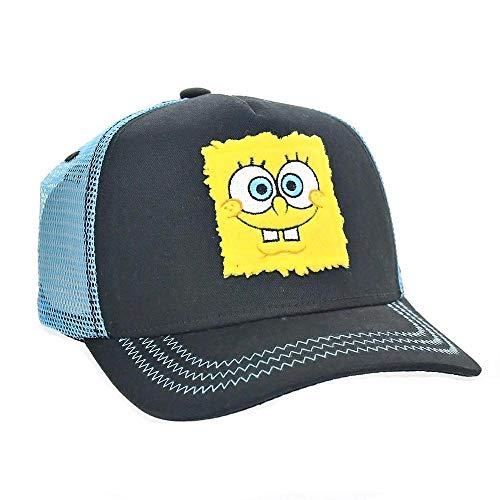 Capslab Spongebob Trucker Cap Spongebob Black/Blue - One-Size -