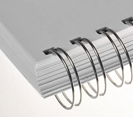 Renz No.6 A4 3:1 Binding Wire Element Combs White 3//8