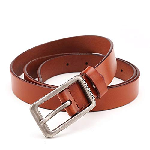 mode femme simple belt Fashion dcorative de Ceintures marron 110cm jeans BBga0H