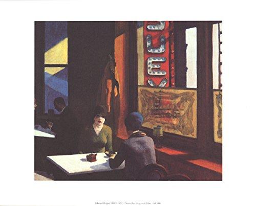 Edward Hopper-Chop Suey-1996 Poster