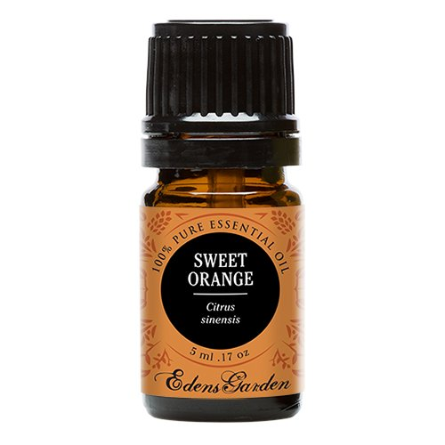 Sweet Orange 100% Pure Therapeutic Grade Essential Oil by Edens Garden- 5 ml