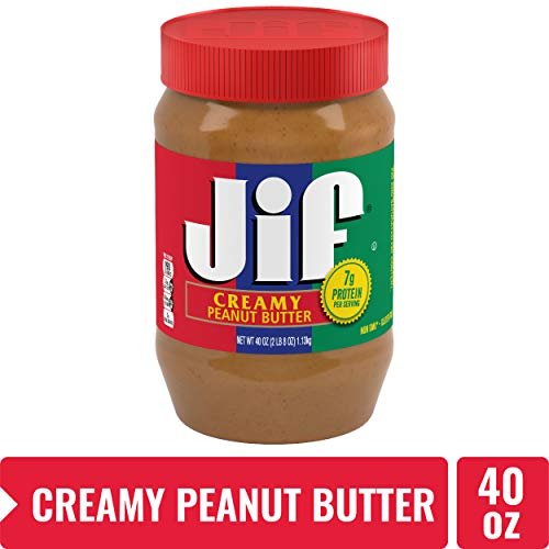 Jif Creamy Peanut Butter, 40 Oz (Peanut Butter Jif Creamy)