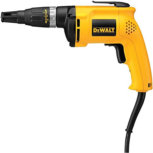 DEWALT DW255R High Speed Drywall Screwdriver Certified Refurbished