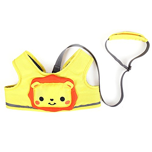 Zicac  Toddler Safety Harness Baby Child Safety Walkers (Yellow) (Baby Walker Leash)