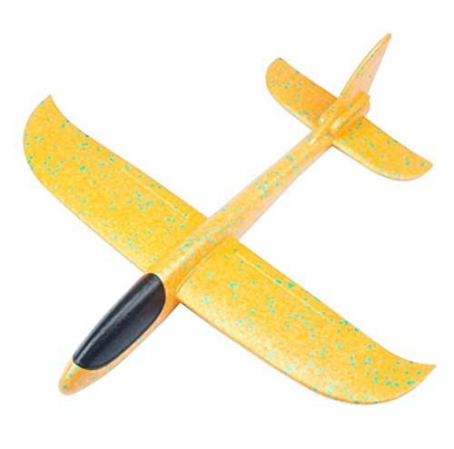 kitchare Foam Airplane Flight Mode Throwing Glider Inertia Plane Foam Aircraft Model Outdoor Sport Toys by kitchare