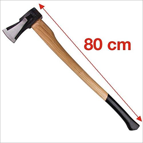 Spaltaxt 2 kg 80 cm mit Eschenholzstiel DS-Handel