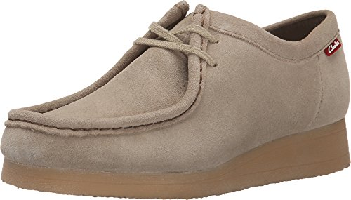CLARKS Women's Padmora Oxford, Sand, 8 M (Clarks Wallabee Oxford)