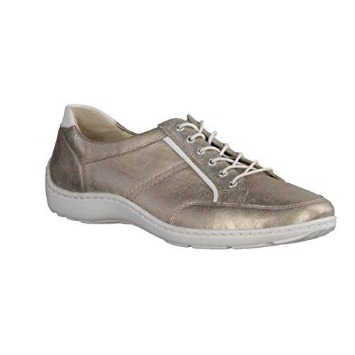 Sneakers Hiroko Da Donna Skaters, Oro / Bianco
