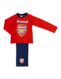 Arsenal FC Boys Pyjama Set Sizes 4 to 12 Years