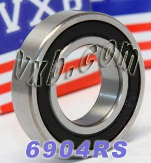 6904RS Bearing 20x37x9 Sealed Ball Bearings