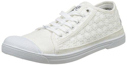 Temps Femme Des Baskets Basic 02 Blanc Cerises Le margot BwgqHxR1q