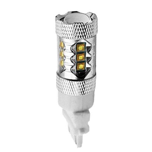 10Pcs 3157 Reverse Light Green 80W Epistar High Power LED Bulb Backup Lamps