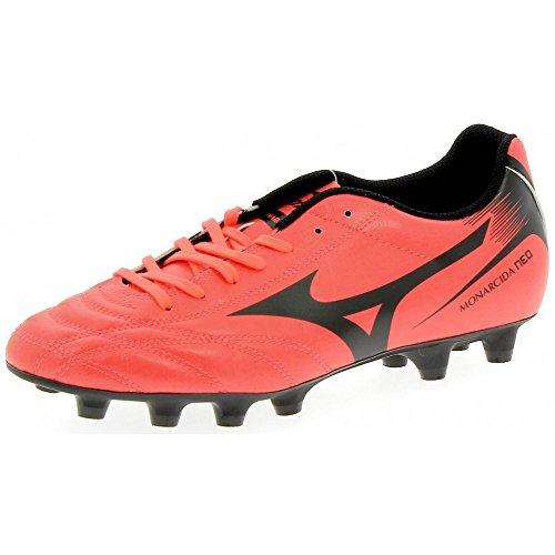 Moulded Black Boots Monarcida Red Neo Football FG Fiery Coral Aw050q