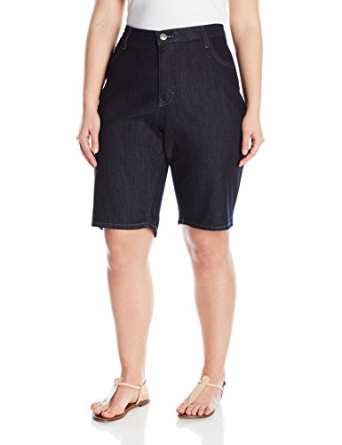 Riders-by-Lee-Indigo-Womens-Plus-Size-Comfort-Waist-Bermuda