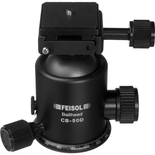 Feisol CB-50D Ball Head with Release Plate QP-144750 by Feisol (Image #1)