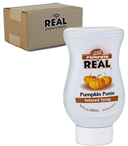 (Pumpkin Reàl, Pumpkin Spice Puree Infused Syrup, 16.9 FL OZ Squeezable Bottle (Pack of 1))