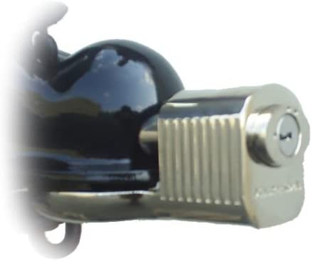 Chrome Plated Keyed Alike Trailer Coupler Locks 377KA-8 Fits 1-7//8 and 2 Couplers - 8 Master Lock