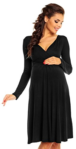 Buy long sleeve empire waist cocktail dress - 3