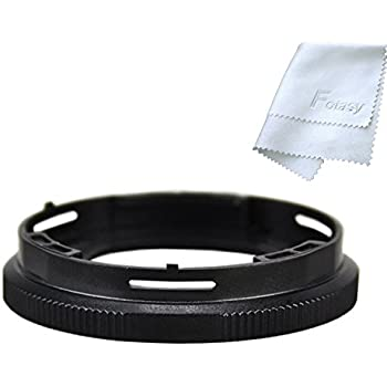 JJC RN-T01 40.5mm Conversion Lens Adapter & Lens Cleaning Cloth for Olympus Tough TG-1 TG-2 TG-3 TG-4 TG-5 digital cameras, replaces OLYMPUS CLA-T01