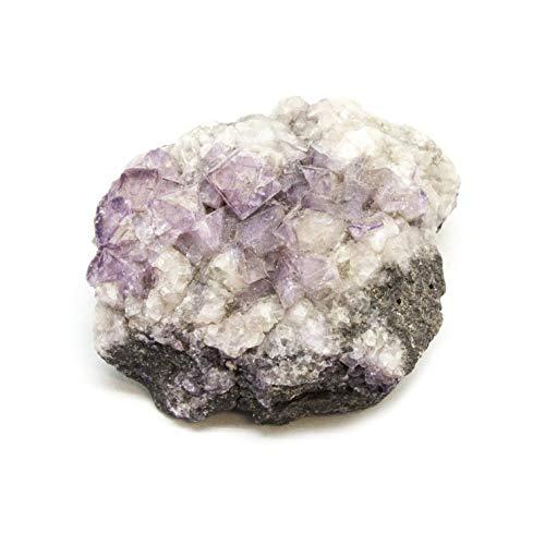Violet Fluorite Cluster]()