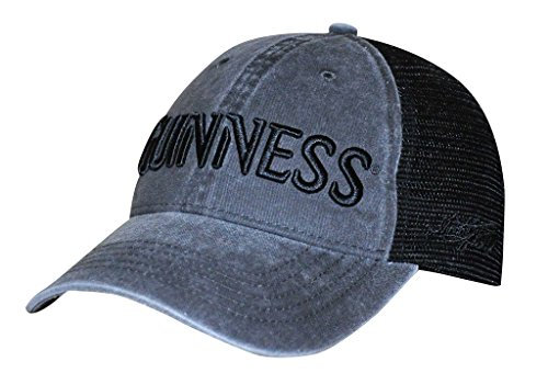 Guinness Baseball (Guinness Label Black/Grey Baseball Cap)