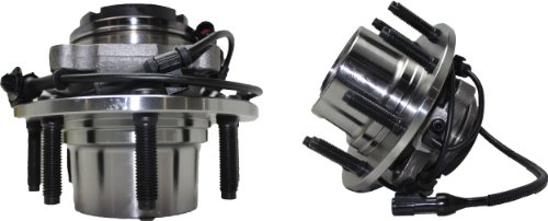 Duty Axle Assemblies ((Both) Front Wheel Hub and Bearing Assembly 1999 Ford F-250/350 Super Duty 4x4 8 Lug W/ ABS (Pair) Ending Production Truck Date 4/21/99 - SRW Coarse Threads)