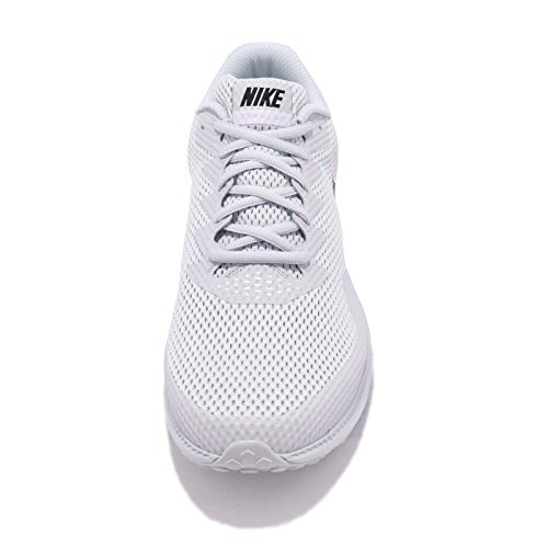 Nike Mens Zoom All Out Low 2, Platino Puro / Nero-bianco Platino Puro / Nero-bianco