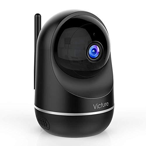 Victure Cámara Vigilancia WiFi Interior, Actualizada 1080P DualBand 2.4G & 5G, Cámara de Vigilancia, HD Visión Nocturna, Audio de 2 Vías,Detección de Movimiento Via IPC360 Home App-Negro a buen precio