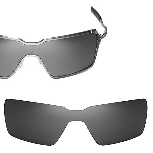 Cofery Replacement Lenses for Oakley Probation Sunglasses - Multiple Options Available (Black - - Sunglasses Probation