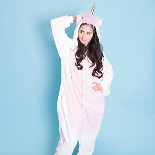 SMOKO Unicorn Magicorn Onesie Plush Single Piece Cosplay Costume ()
