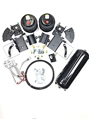 TS - Fits Ford F250 4WD Pickup Truck Towing Assist Air Ride Suspension Kit Complete With Air Management Control