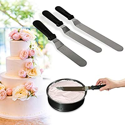 Cortador de tartas con mango de acero inoxidable con herramienta de reposter/ía profesional
