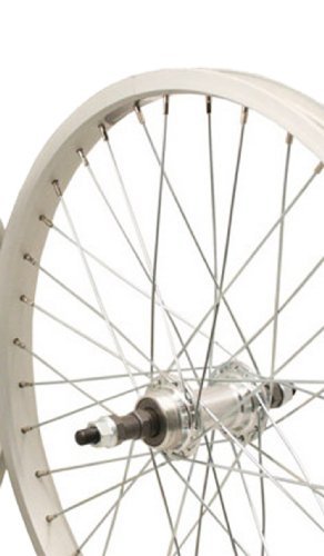 - Sta-Tru Silver Alloy Bmx 1 Speed Freewheel Hub Rear Wheel (20X1.75-Inch)