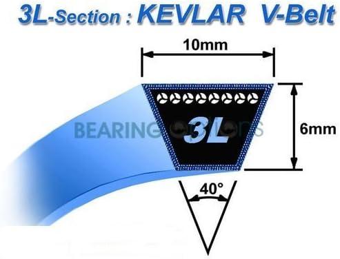 V Belt for DR Mower Trimmer same as DR310881 TR4 Premier Plus Pro XL Strimmer