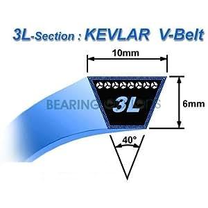 Honda correa de transmisión Kevlar HRB215HRB535hrb536C Autopropulsada Cortacésped 22431-VE2-J00