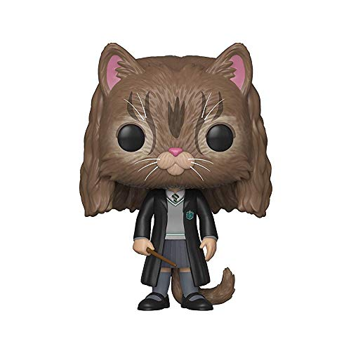 Funko 35509 POP Vinyl Harry Potter S5 Hermione Gato, Multicolor (35509)