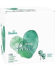 Pampers Aqua Pure Chusteczki nawilżane dla niemowląt, 18 opakowań po 48 sztuk = 864 sztuki