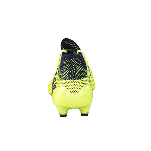 adidas X 17.1 Fg, Scarpe da Calcio Uomo Giallo (Amasol/Tinley/Tinley)