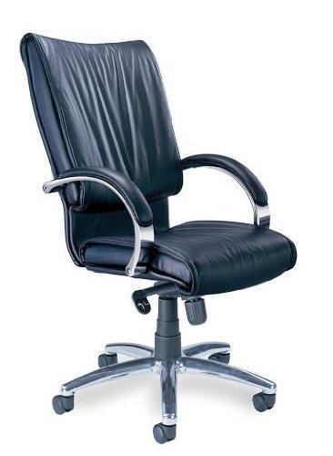 Tiffany Industries PRBLK President Swivel/Tilt Desk Chair, C