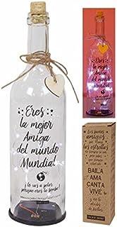 Botella de luz con batería «Familia, donde comienza la vida ...