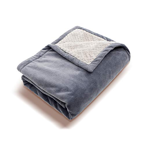 Perfect Prime HP0810GR Soft Fleece Portable QC 3.0 USB Power Heating Throw, Shoulder Blanket, Temperature Setting Controller for Winter Traveling, Camping, Hiking/Outdoor Activities