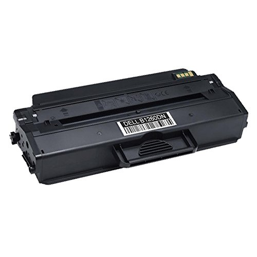 er Cartridge replaces Dell 1260 works with Dell B1260dn, B1265dnf, B1260dnf, B1265dfw - (1 Pack) (Dell B1260dn Laser Printer)