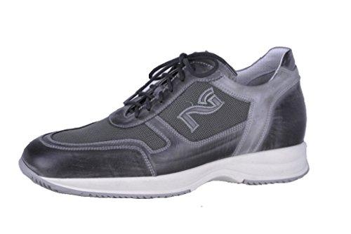 Nero Giardini , Herren Sneaker grau grau 41 Anthrazit