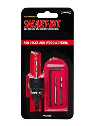 #7 Trim Smart-Bit Pre-Drilling and Countersinking Tool for Decks and Woodworking (item # BDA140) by Smart-Bit