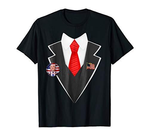 Donald Trump Halloween T-Shirt Costume Funny Tee ()