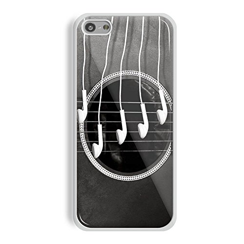 Guitar Wallpaper for iPhone and Samsung Galaxy Case (iPhone 5C white)