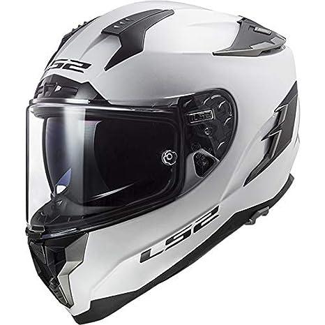 LS2 FF327 Challenger Fibra de Vidrio Casco Moto Integral con Doble Visera Motocicleta Ciclomotor y Scooter